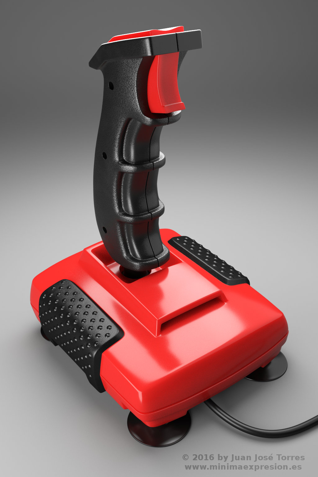 Retro Joystick - Quickshot II Turbo (November 2016)