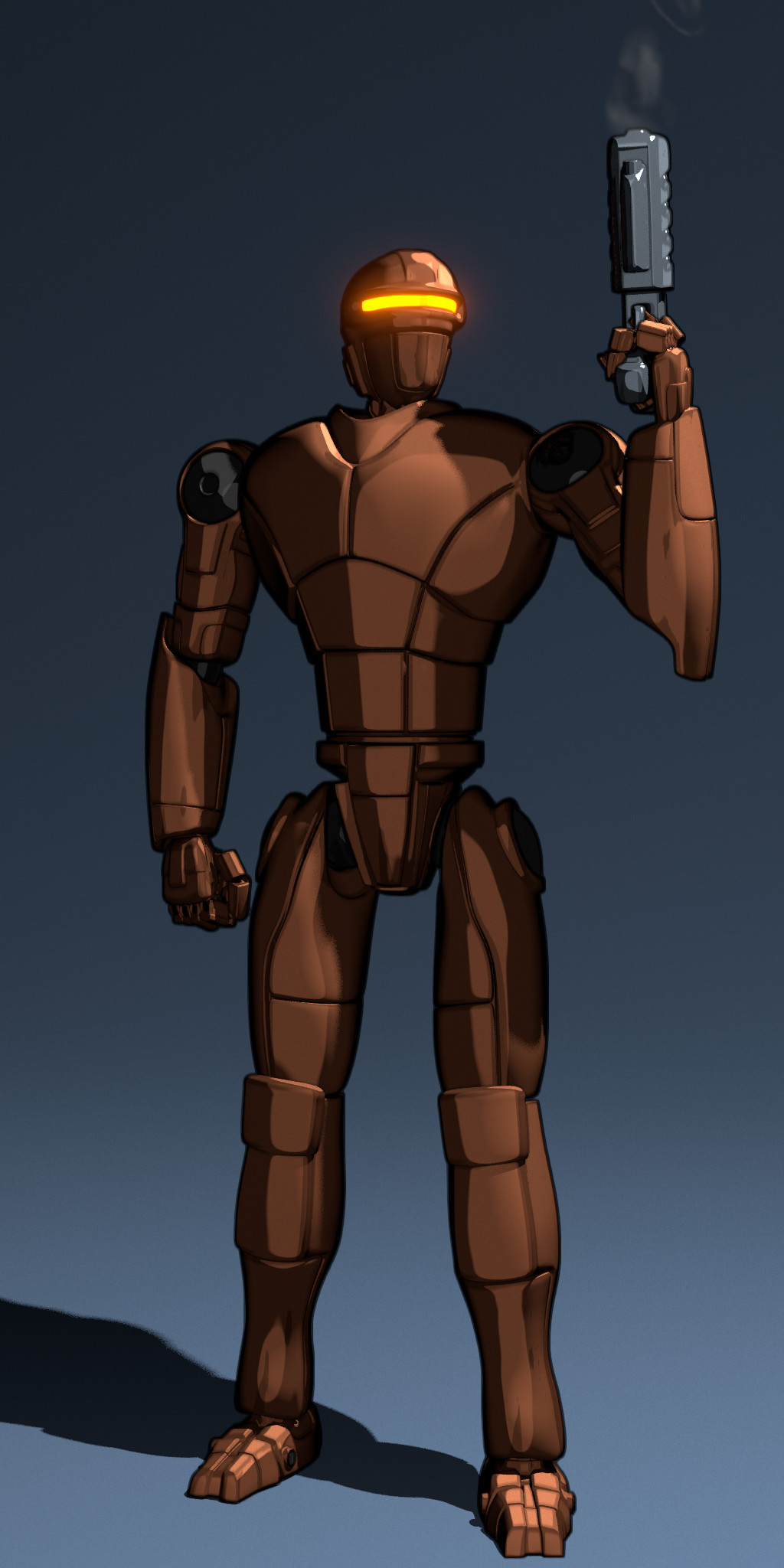 Robot Concept - Comic Style Preview (November 2013)